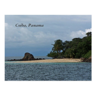 Coiba Panama Post Card