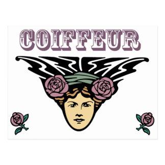 Coiffeur Postcard