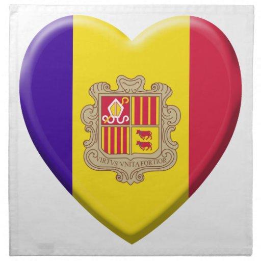 Coil Andorre flag Napkin