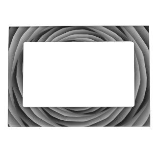 Coiled Cables in Black and White Frame