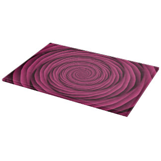 Coiled Cables in Pink Cutting Board