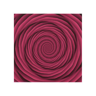 Coiled Cables in Pink Wood Canvas