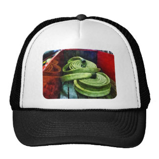 Coiled Fire Hoses Mesh Hats