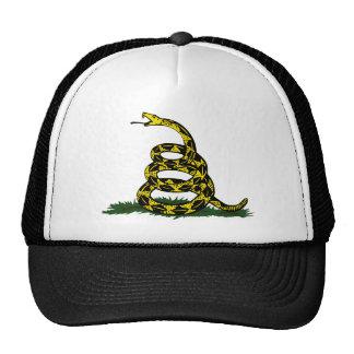 Coiled Gadsden Flag Snake Cap