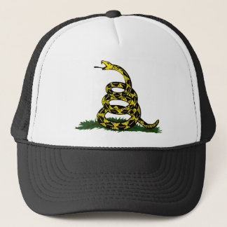 Coiled Gadsden Flag Snake Trucker Hat