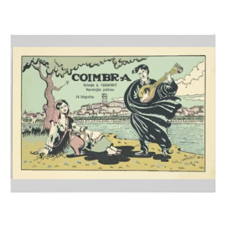 Coimbra , Vintage 21.5 Cm X 28 Cm Flyer