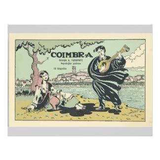 Coimbra , Vintage Flyer Design