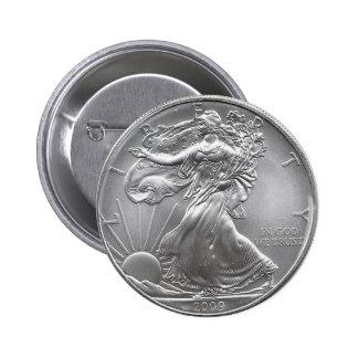 Coin 6 Cm Round Badge