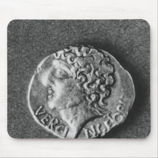 Coin bearing the effigy of Vercingetorix Mouse Pad