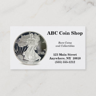 Coin business cards business card printing zazzle uk coin business card colourmoves
