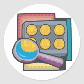 Coin Collector Stickers