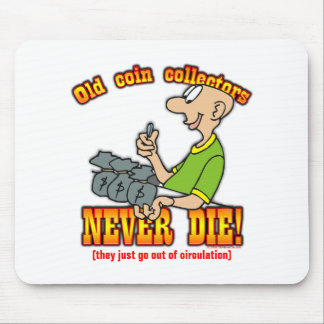 Coin Collectors Mouse Mat