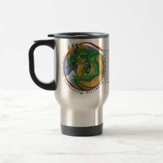 """Coin"" Design Travel Mug (R. Hand)"