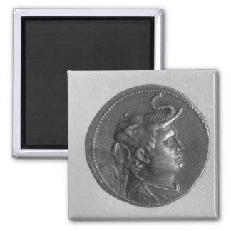 Coin minted by Ptolemy I Square Magnet