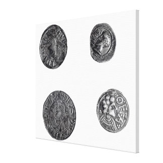 Coins of Cunobelinus or Cymbeline Canvas Prints