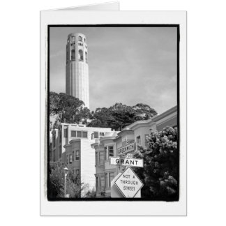 Coit Tower Card