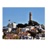 Coit Tower On Telegraph Hill In San Francisco Take Postcards