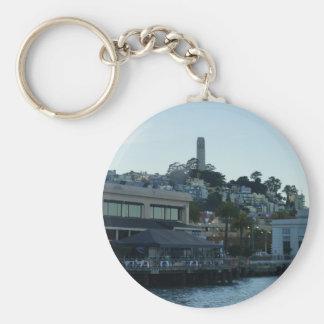 Coit Tower, San Francisco #3 Keychain