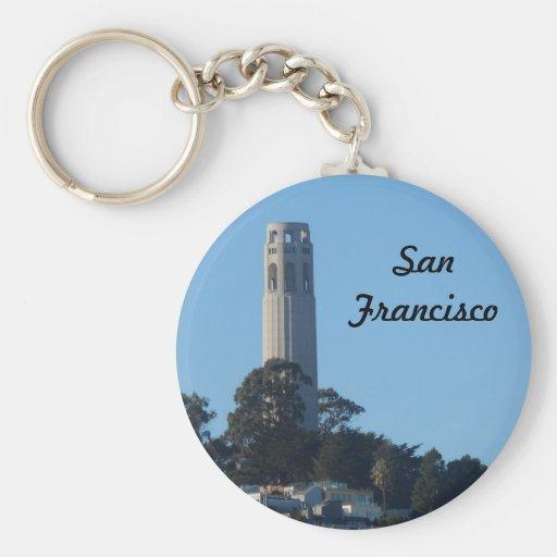 Coit Tower- San Francisco Keychain