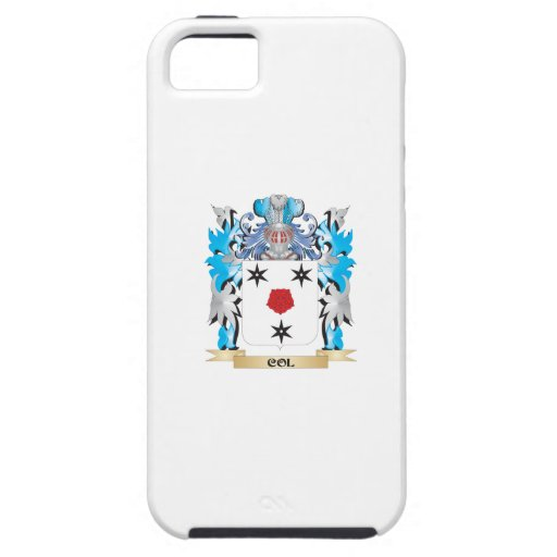 Col Coat of Arms - Family Crest iPhone 5/5S Covers