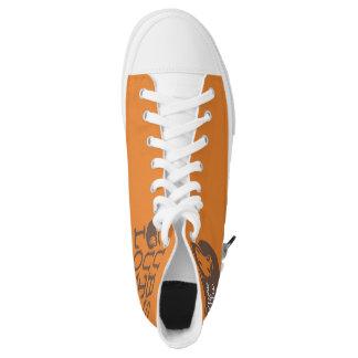 COL V3 Logo High Tops Printed Shoes