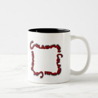 Colabrei Logo - Red Two-Tone Mug