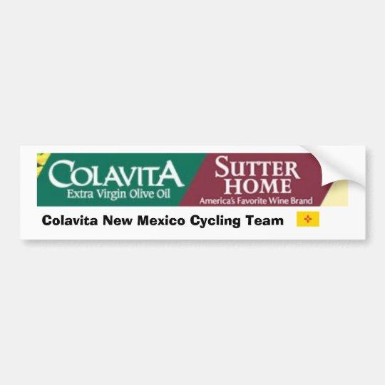 Colavita New Mexico Cycling Team Bumper Sticker