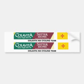 Colavita NM top tube sticker Bumper Sticker