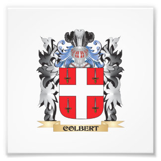 Colbert Coat of Arms - Family Crest Photo Art
