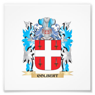 Colbert Coat of Arms - Family Crest Art Photo