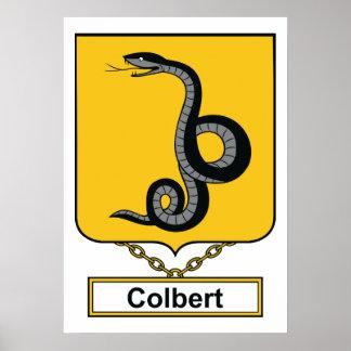 Colbert Family Crest Print