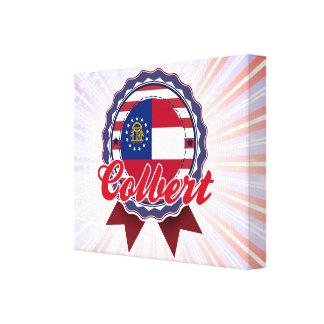 Colbert, GA Gallery Wrap Canvas