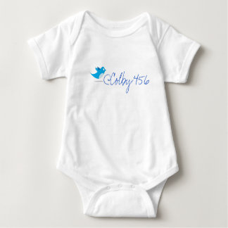 @Colby456 and Twitter Bird Baby Bodysuit
