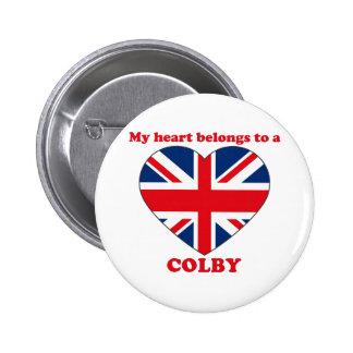 Colby 6 Cm Round Badge