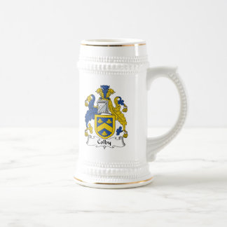 Colby Family Crest Beer Steins