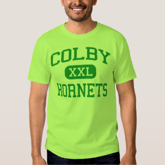 Colby - Hornets - High School - Colby Wisconsin Tee Shirt