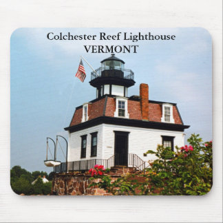 Colchester Reef Lighthouse, Vermont Mousepad