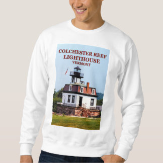 Colchester Reef Lighthouse, Vermont Sweatshirt
