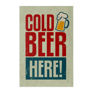 Cold Beer Acrylic Print