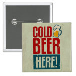 Cold Beer Buttons
