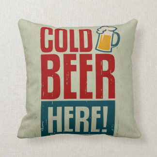 Cold Beer Cushion