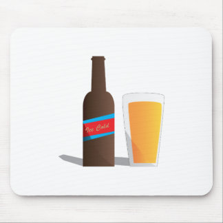 Cold Beer Mouse Pads