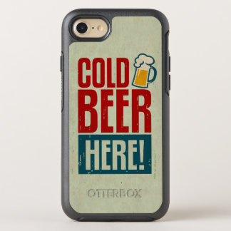 Cold Beer OtterBox Symmetry iPhone 8/7 Case