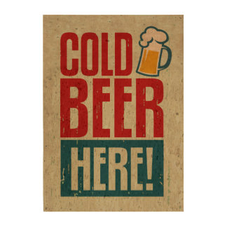 Cold Beer Cork Fabric