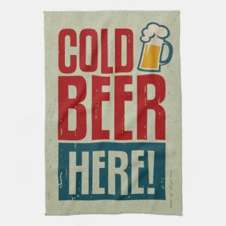 Cold Beer Tea Towel