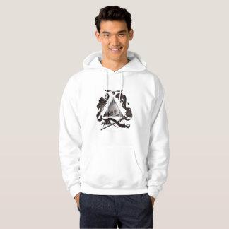 Cold blouse print hoodie
