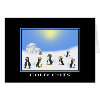Cold Cuts Greeting Card