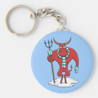 Cold Day in Hell Key Chain