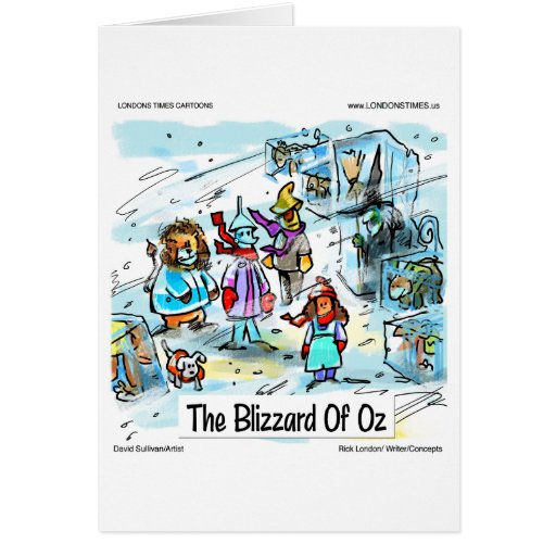Cold Day In Oz Funny Tees Mugs Cards & Gifts Cards