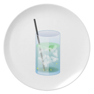 Cold Drink Party Plates